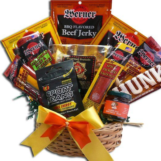 Art of Appreciation Gift Baskets Meat and Snack Attack Gift Basket ...