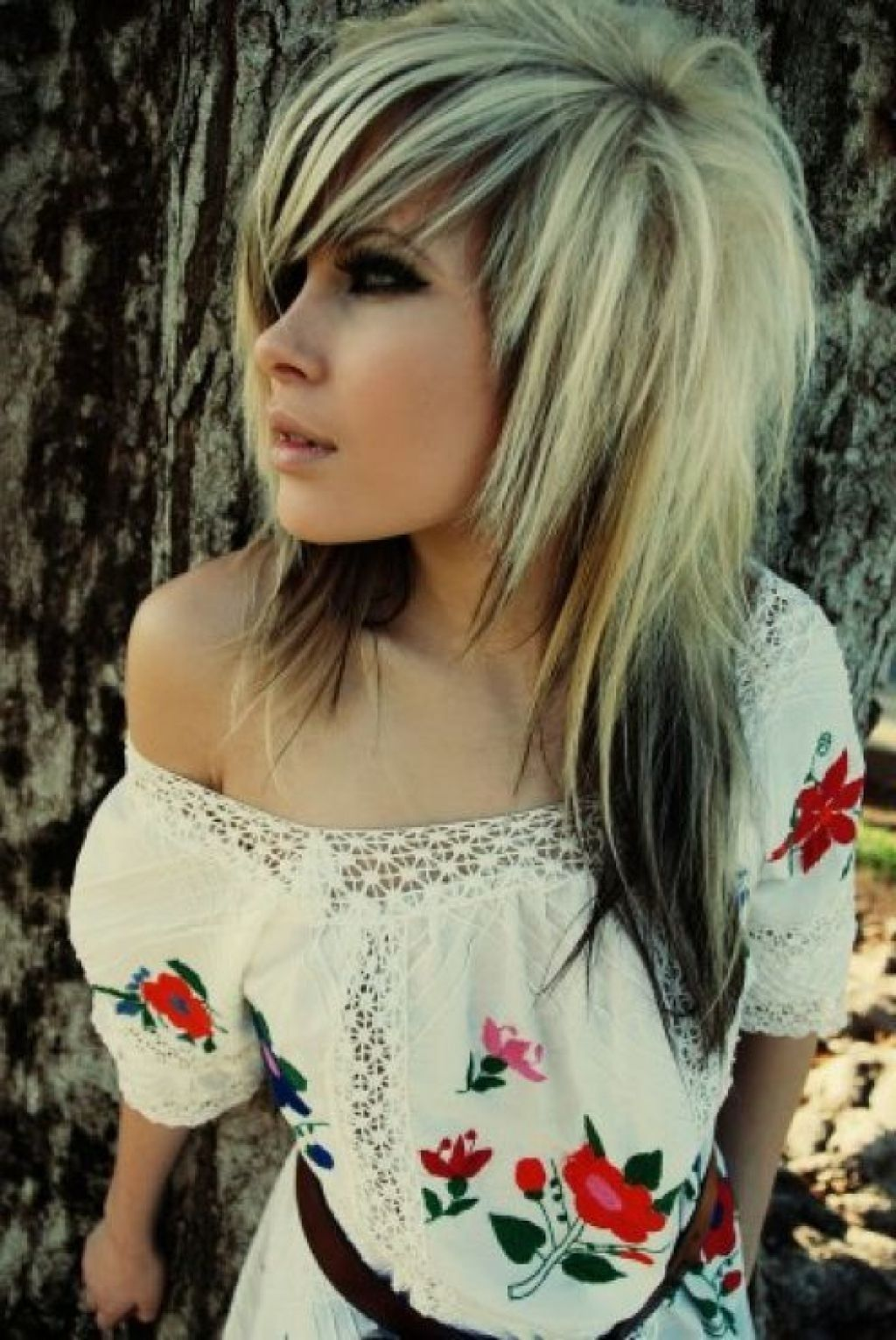 emo hairstyles for curly long hair easy casual hairstyles for