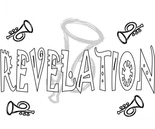 Revelation 1 3 Gods Warning To Seven Churches Coloring Page