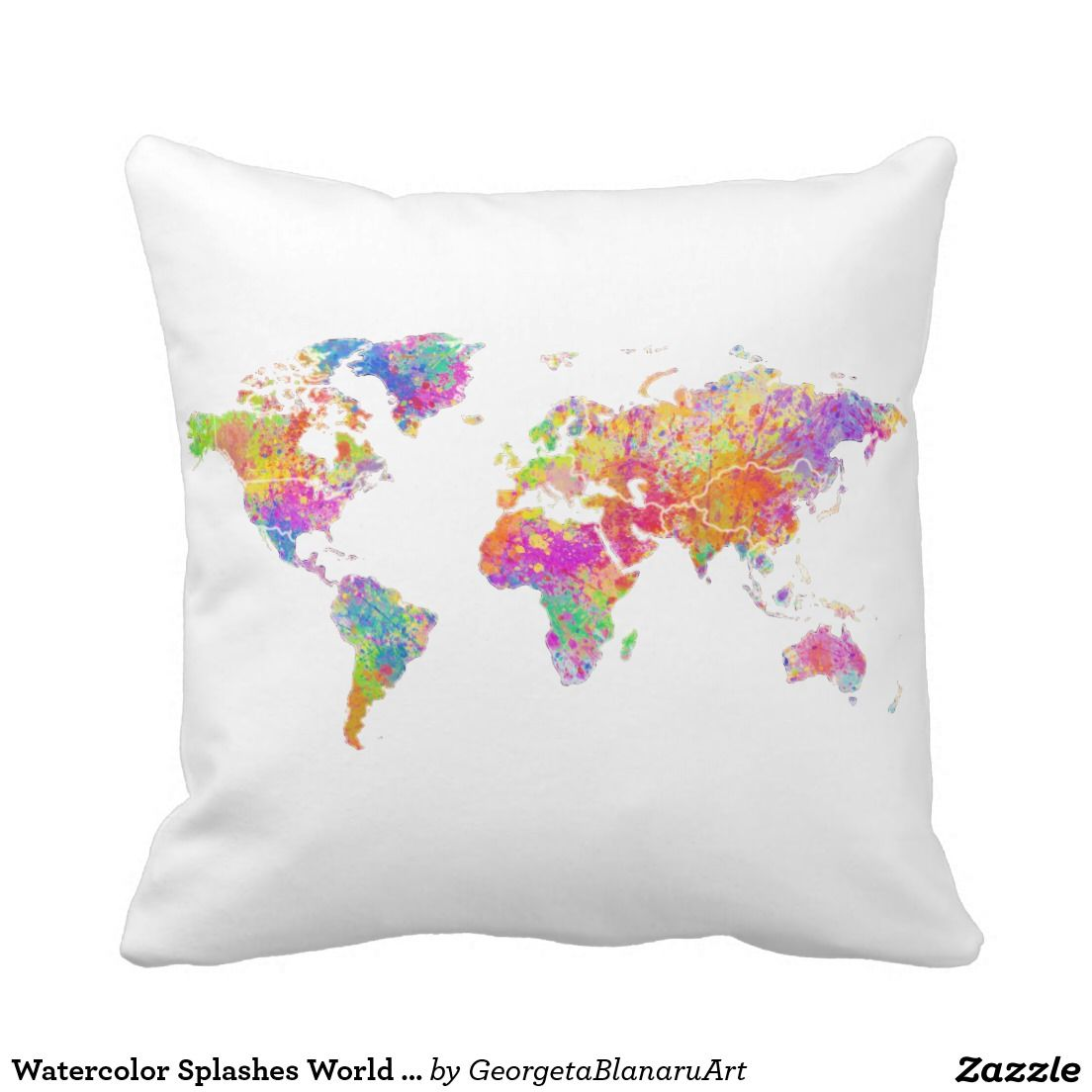 "Your Custom Polyester Throw Pillow 16"" x 16"""