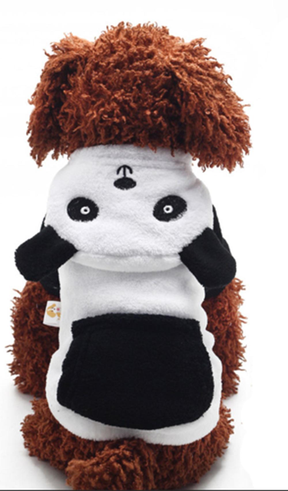 Pet Fleece Panda Costume Pet costumes, Cat clothes