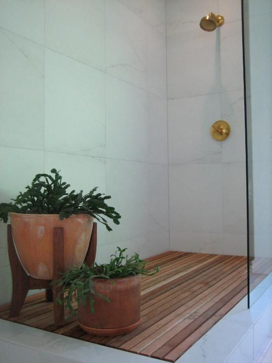 We have long talked about doing a wood plank shower floor and finally in  collaboration with - We Have Long Talked About Doing A Wood Plank Shower Floor And