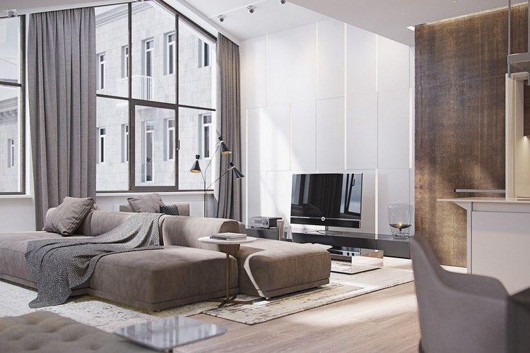 Perfekt Modernes Wohnzimmer U2013 95 Einrichtungsideen Und Tipps #einrichtungsideen # Modernes #tipps #wohnzimmer