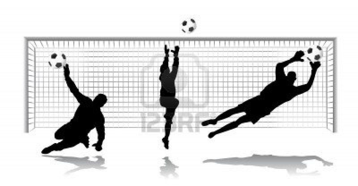 Goal Keeper Vector Goalkeeper Soccer Silhouette Soccer Pictures