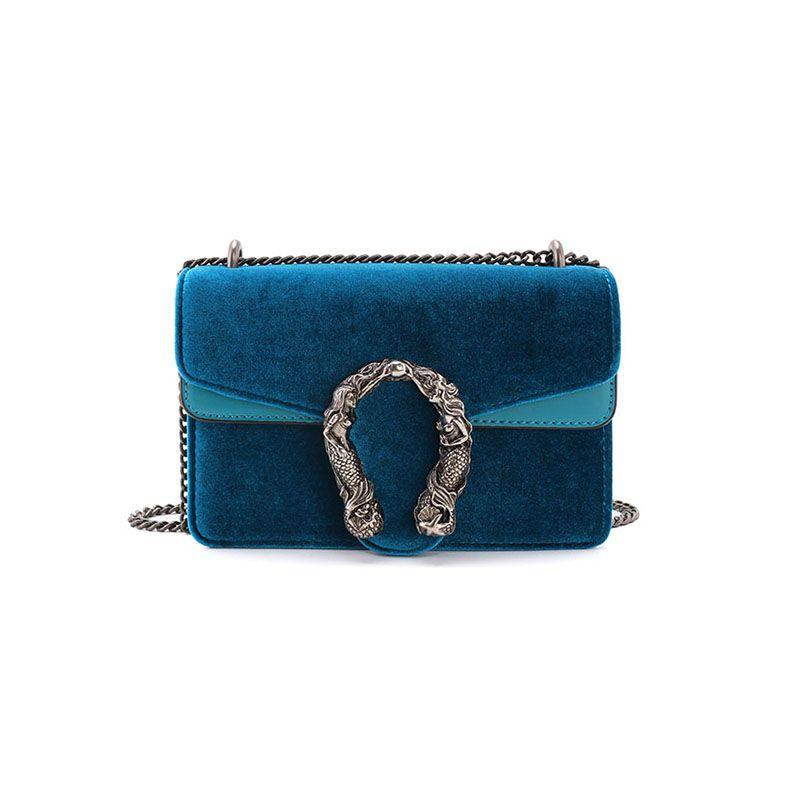 Gucci Dionysus Dupe Blue Cobalt Velvet  81967d4b28209