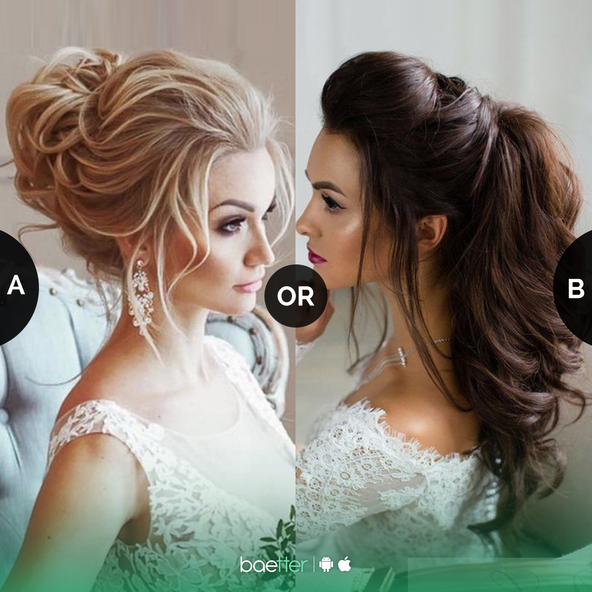 which #bridal puff #hairstyle you'd love to carry #messybun or