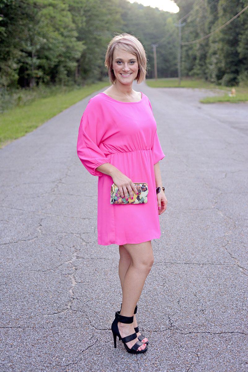 Pretty Pink Dress Hot Pink Dresses Pink Dress Dresses [ 1200 x 801 Pixel ]