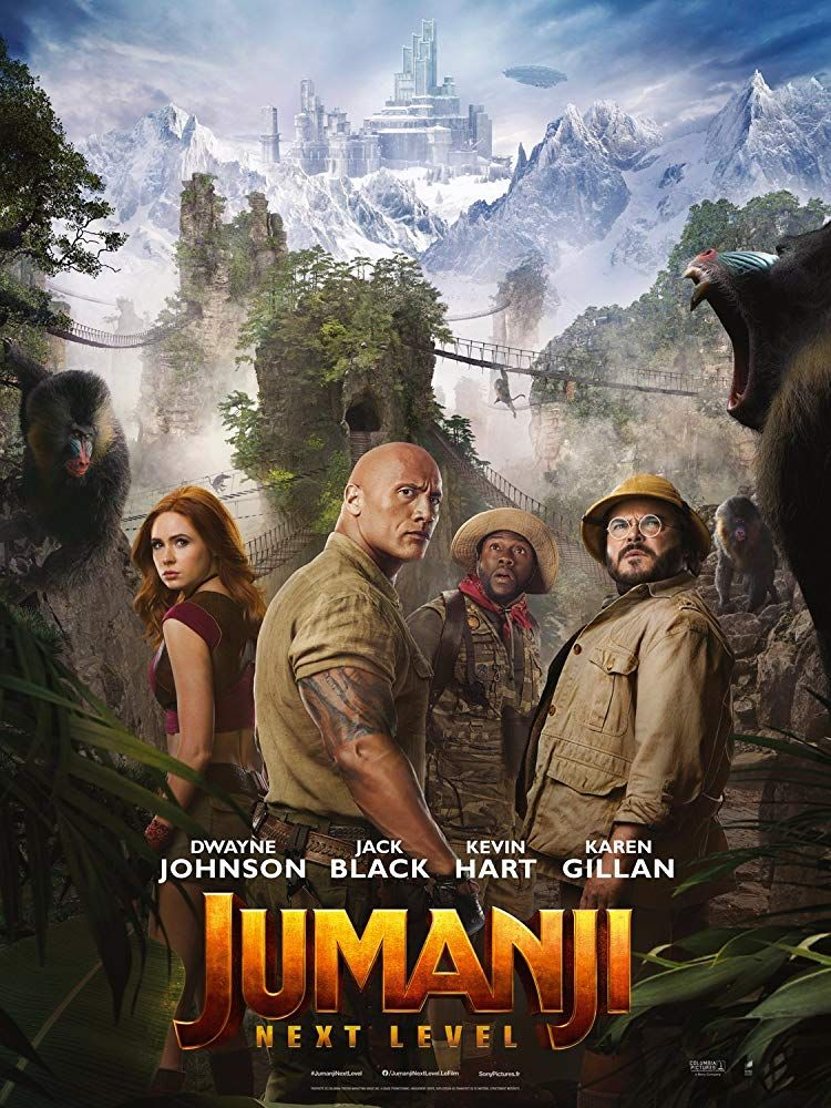 "Movie Review Jumanji  The Next Level is part of Streaming movies free, Free movies online, Streaming movies, Movies to watch, Full movies online, Full movies online free - Stars 4 out of 5 Pros Strong acting, laughs, action Cons A sequel; some jokes milked too long The Bottom Line A sequel movie New challenges and some swaps Overall it's fun ""He Didn't Go Out  He Went Back In "" I was among the many who were pleasantly surprised by the reboot for Jumanji we got a couple of years ago  I've had mixed feelings about Jumanji The Next Level, however, based on the previews  I went in hoping to be completely surprised  It turned out to be a sequel, but an entertaining one  It's been a couple of years since we last saw Spencer (Alex Wolff), Bethany (Madison Iseman), Martha (Morgan Turner), and Fridge (Ser'Darius Blain)  In that time, they have remained close friends  They are now coming home for their first Christmas since high school graduation  The problem is Spencer, who is feeling a bit insecure again  In fact, he puts off agreeing to meet his friends for breakfast at Nora's until the night before  Then, he decides that what he really needs is a touch of Dr  Bravestone (Dwayne Johnson), so he goes back into Jumanji  When he doesn't appear for breakfast the next day, his friends get concerned, so they go over to his house, only to discover that he's gone back into the game  They reluctantly decide they have to go back to rescue him, but there are some surprises on the way  They are in a brand new adventure, not the one they did before  While Bravestone, Ruby (Karen Gillan), Professor Oberon (Jack Black), and Mouse (Kevin Hart) are once again the characters active in the game, everything is mixed up  Oh, and they accidentally sucked Spencer's Grandpa Eddie (Danny DeVito) and Eddie's friend Milo (Danny Glover) into the game  Will they survive this new challenge  I have to give the writers credit  They tried  They really did  When a movie brings back all the characters from the first movie (yes, even the ones I didn't mention are back), it's hard to come up with something funny and fun that will keep audiences entertained and guessing  Especially when you've got a premise like this one, with real people becoming video game characters  They did a good job of taking what they were given and crafting the best possible movie they could  But let's face it, this is a sequel  And it feels like a sequel  We pretty much know where the movie is going to go, and it goes there  No, the last one wasn't that surprising, but it was original, and this one is missing that originality  Don't misunderstand, I did enjoy myself while watching it  While there wasn't as much comedy, there were still some very funny moments and lines that made the entire audience I saw it with laugh  The action scenes had me on the edge of my seat  This movie is definitely worth seeing if you've enjoyed any of the previous movies in the franchise, especially the last one  I do think they milked the old men not getting they are in a video game jokes a bit too long  I'm sure they could have found some better material if they had tried after the initial round of these jokes had played out  And the actors are again phenomenal  While I thought the actors playing the video game characters were great last time, they were basically playing teenagers  This time, several of them have to take on Danny DeVito and Danny Glover, not generic old men  And they nailed it! Honestly, some of the laughs just came from someone else perfectly imitating these actors  Another thing I appreciated is that the writers kept the character development for the teens from the first movie  Yes, they still have some growing to do, but they haven't reverted back to who they were when the first movie started  That can be a very annoying pitfall of sequels that the writers avoided here  Fans of the original will find a very surprising cameo at the end of this movie  And there's one final scene after the credits start that might be setting up the next sequel  If so, I am dreaming the cameo means something specific about this potential next film  Jumanji The Next Level is fun  It's not as spectacular as the previous movie, but it will keep fans entertained while they watch"