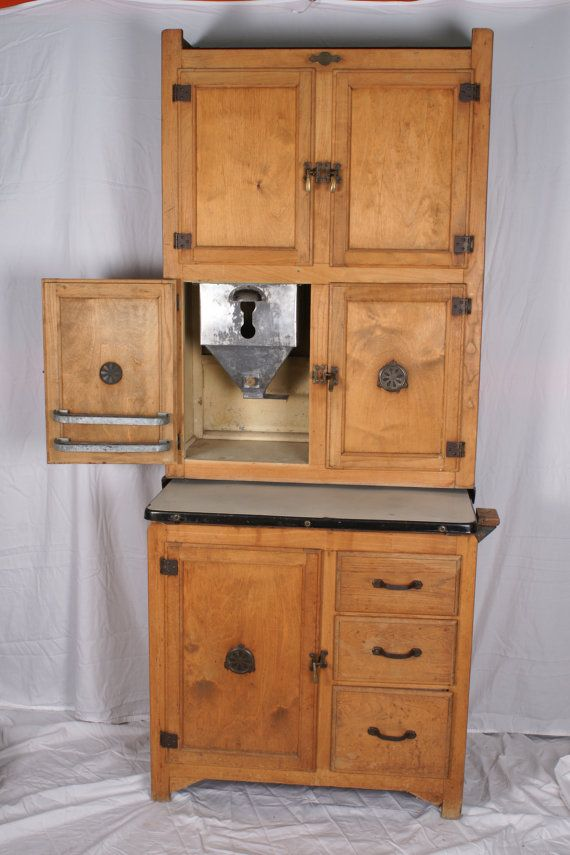 Best Hoosier Cabinet Small Size By Hygena By 640 x 480