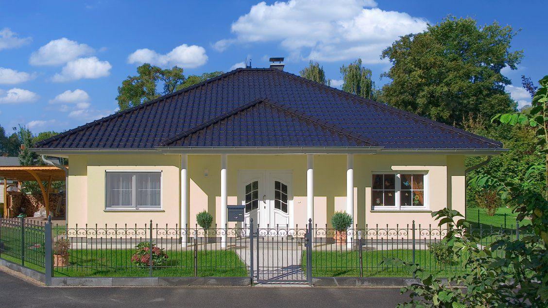 Bungalows Bungalow Zingst (Putzfassade), Hauseingang