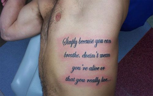 Scripture Tattoos for Men | 26 Reverent Scripture Tattoos ...