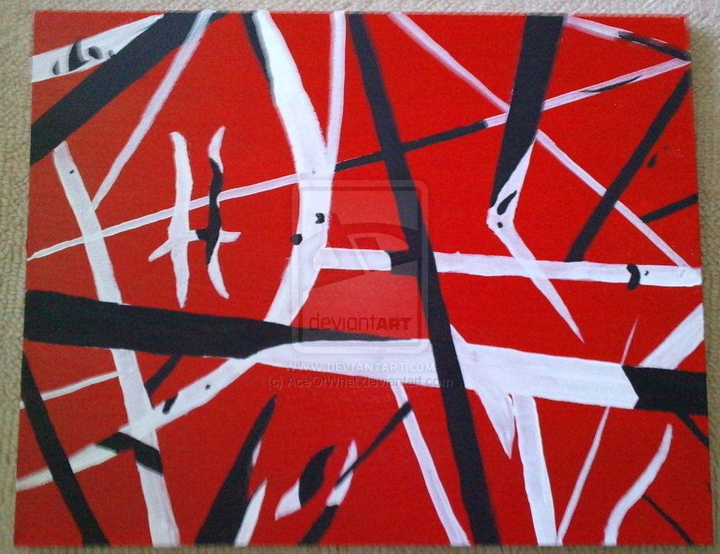 Evh Frankenstrat Pattern By Aceofwhat D36e29k Jpg 1019 784 Eddie Van Halen Van Halen Pattern