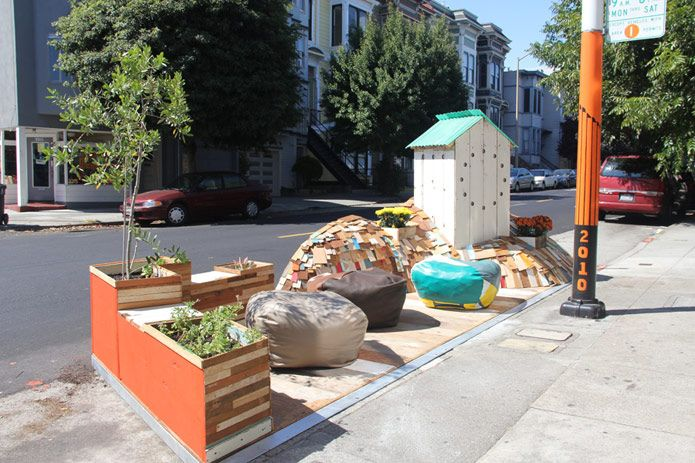 3318-3320 22nd Street Parklet (Hosted by Fabric8)