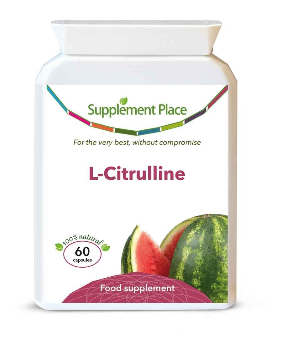 L-Citrulline Powder & Capsules with Dosage Guides | Supplement Place