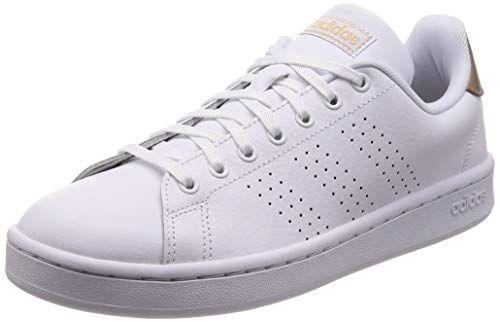 adidas Advantage Chaussures de Fitness Femme Blanc (FTW Bla ...