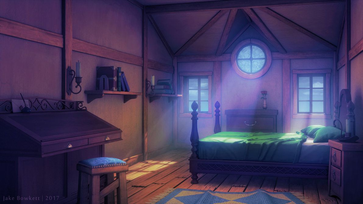 Bedroom [morning] by on