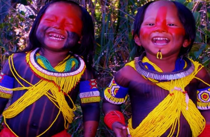 Amazon children - they make me want to laugh and smile <3