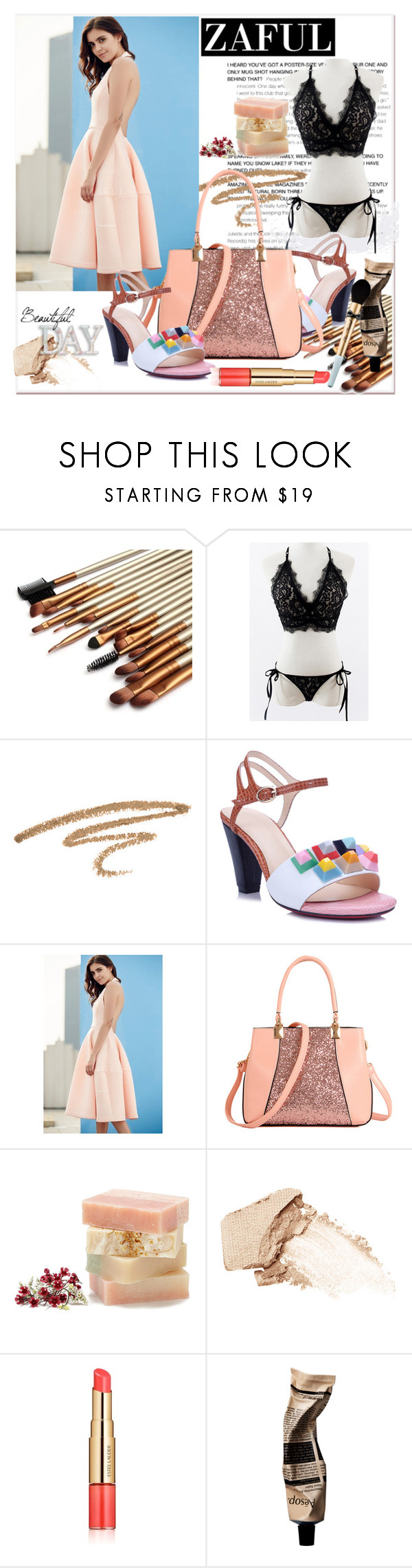 """""""ZAFUL"""" by newoutfit ❤ liked on Polyvore featuring NARS Cosmetics, Estée Lauder, Aesop, Too Faced Cosmetics and zaful"""
