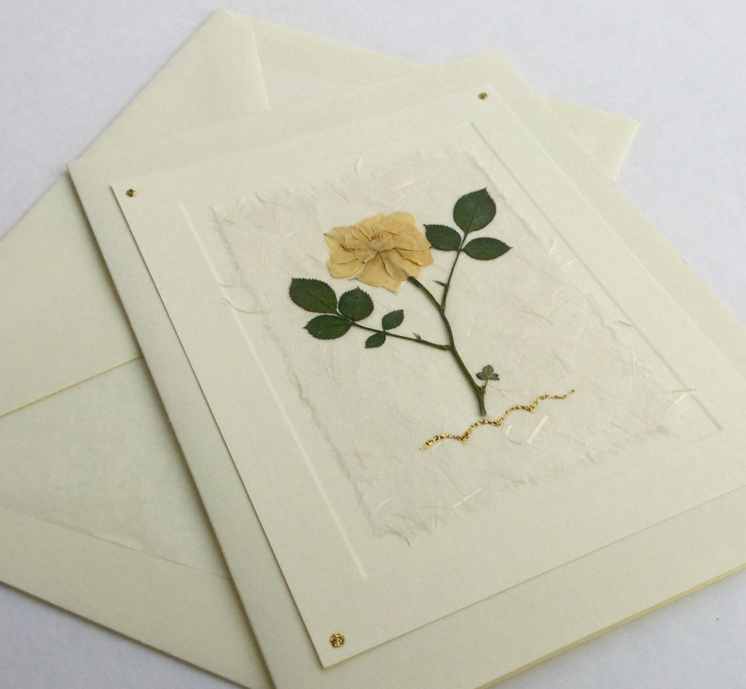 Rose flower yellow rose greeting card ooak handmade card blank rose flower yellow rose greeting card ooak handmade card blank inside izmirmasajfo
