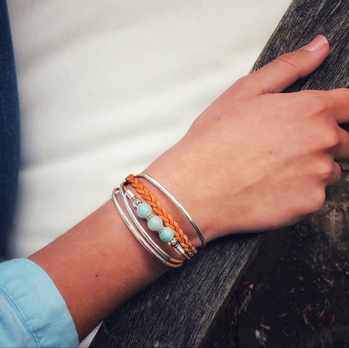 wide Cuff bracelet sallie otenasek, jewelry boho jewelry stackable bracelet Bohemian woodscape artisan hand painted