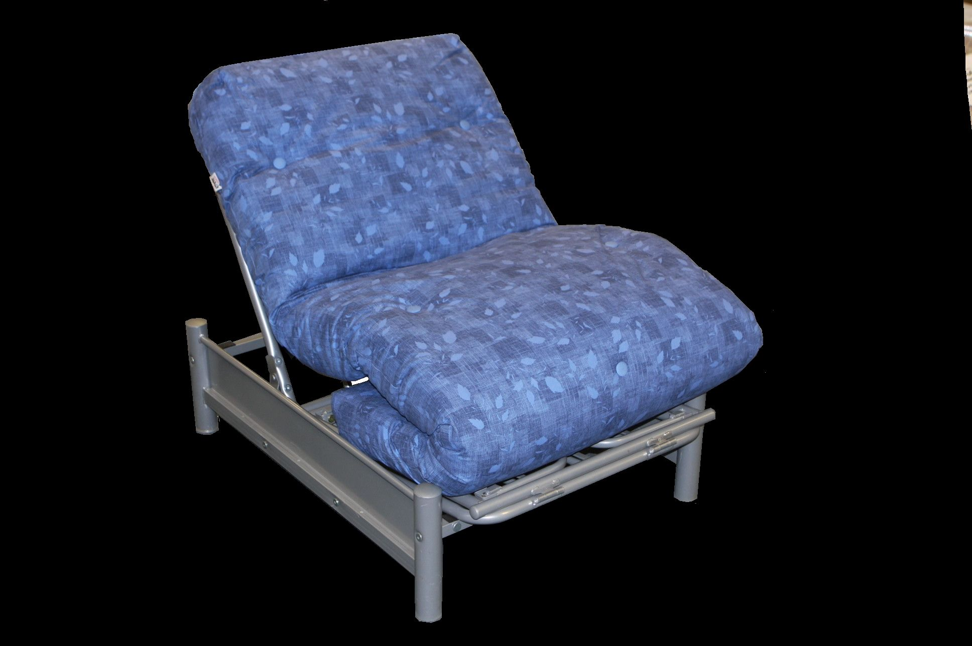 Single Chair Futon 159 95 Converts Easily Into A Size Bed The Frame And Hinges Make It Easy To Convert For Occasional Guest