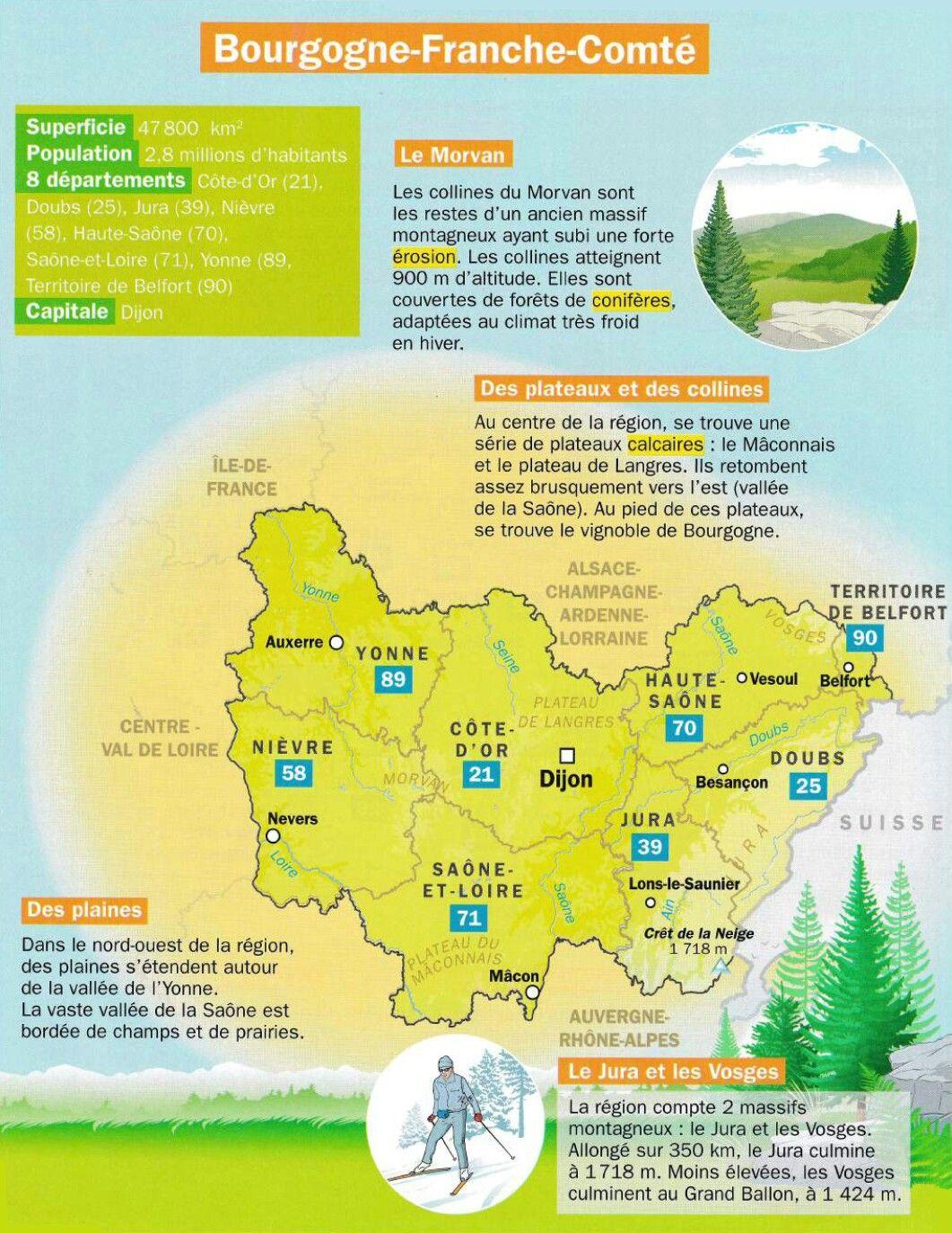 Epingle Par Leo Sur Mon Quotidien Culture G Geographie Culture Generale Regions Francaises
