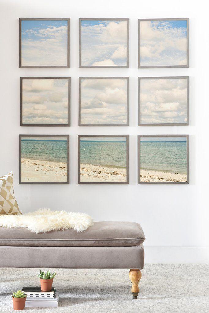Bree Madden Dream Beach Framed Wall Mural DENY Designs Home