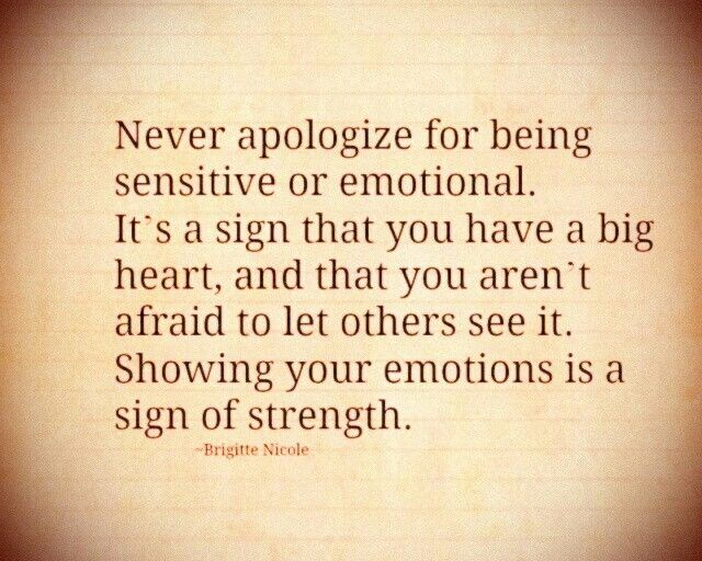 It's true but never let your emotions rule your decisions.