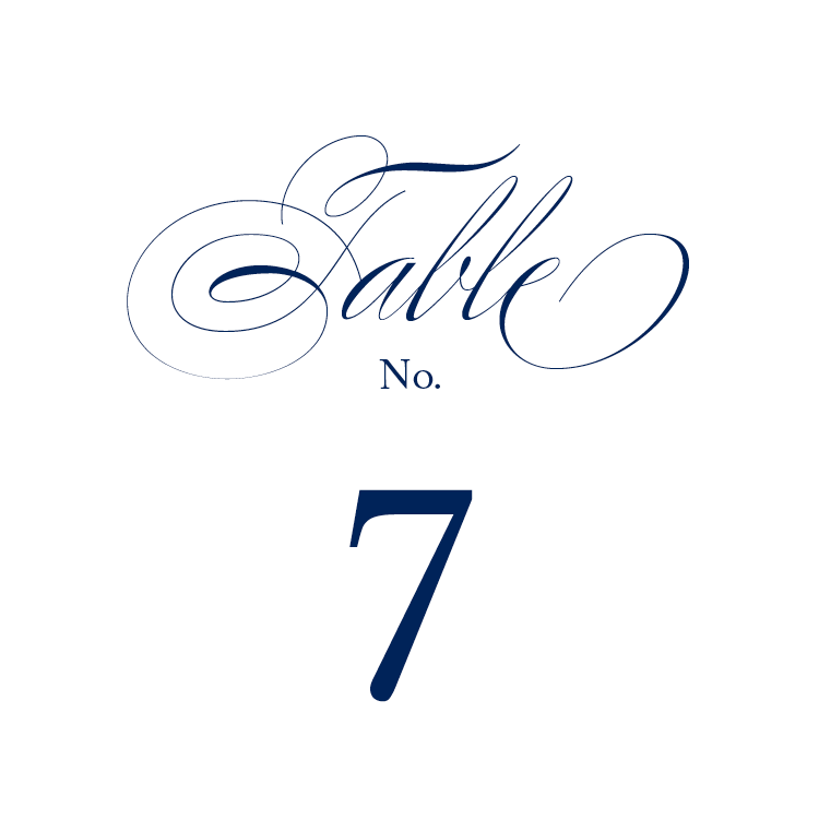 Classic Script Table Numbers lololincoln.com | Wedding Table Numbers ...