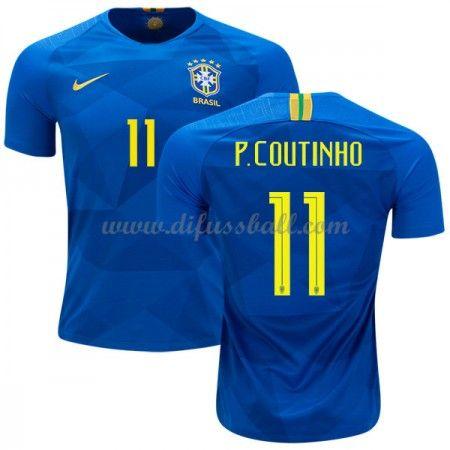 Günstige Fußballtrikots Brasilien Trikot