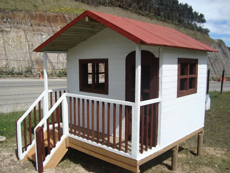 A adidos prefabricados de madera para exterior casas de - Casa de madera jardin ...