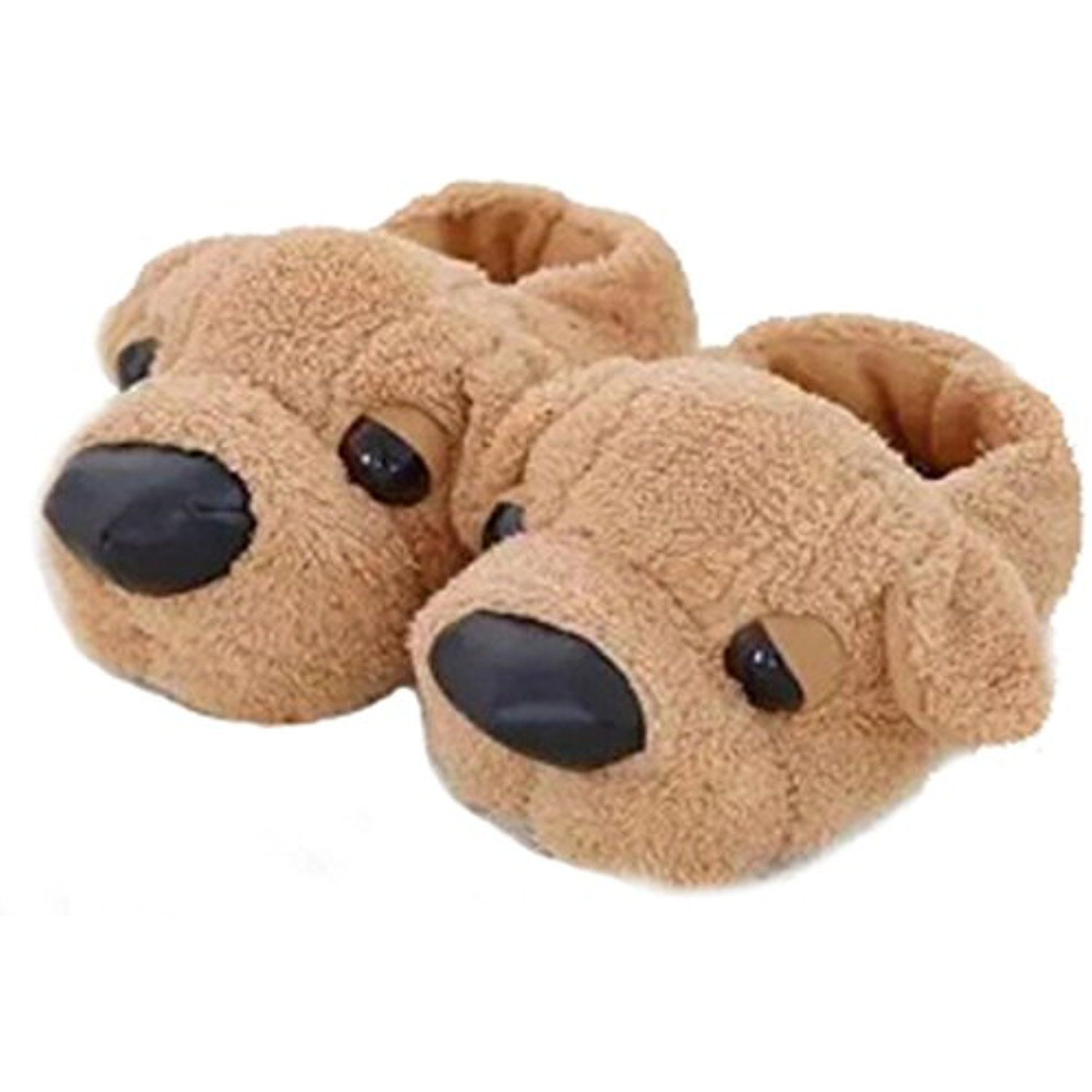 225451c37fc7e Womens Mens Warm Fleece Indoor Slippers, Cute Cartoon Dog Couple Slippers  Soft Plush Cozy Winter Ankle Boots Non-slip Fuzzy Booties Footwear Mules  Bedroom ...