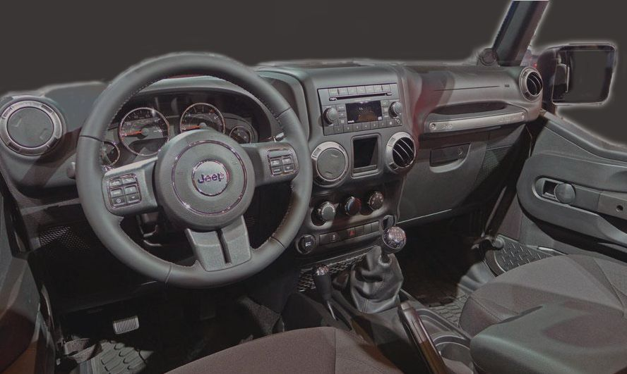 2014 Jeep Willys Wheeler Edition Interior Willys Jeep Jeep
