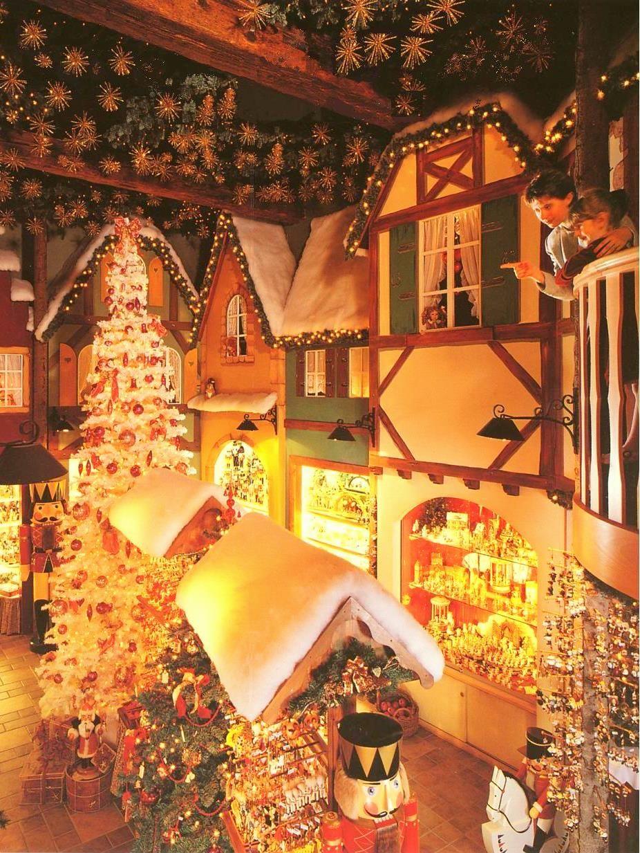 Riquewihr Christmas Shop Riquewihr Alsace France