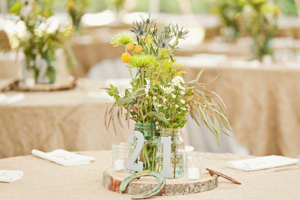Horse Shoes Horseshoes Centerpieces Wedding Table Decorations