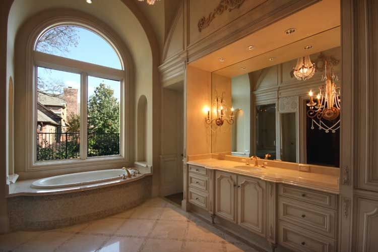 Formal French Master Bathroom Designed By Tracy Rasor, Dallas Design Group  Interiors, And Built