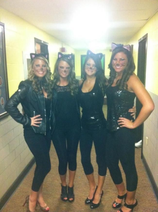 halloween ideas black cat costumes - Cat Costume Ideas Halloween