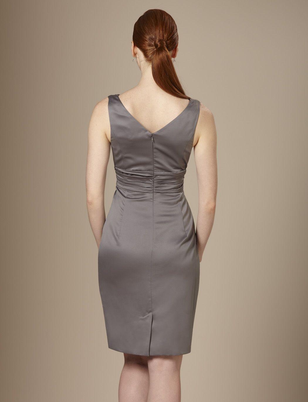 Gray bridesmaid dress | Gray and Yellow Wedding ...