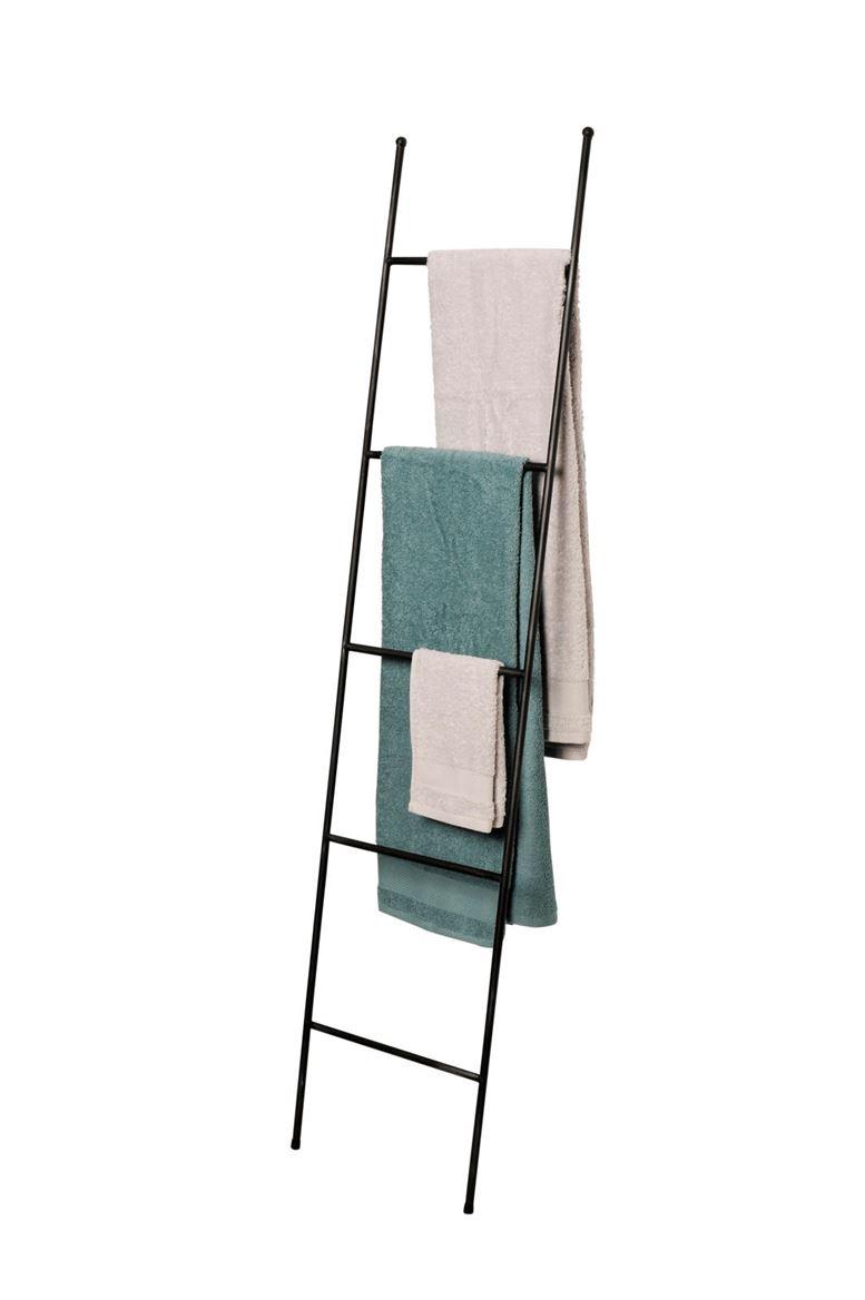 Houten Ladder Decoratie Zwart