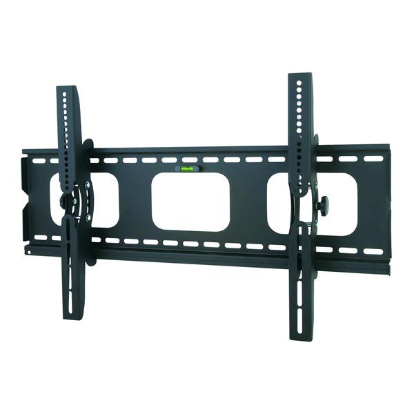 Tygerclaw 32 In 63 In Tilting Wall Mount Lcd3032blk Rona Wall Mounted Tv Tv Wall Mount Bracket Flat Panel Tv
