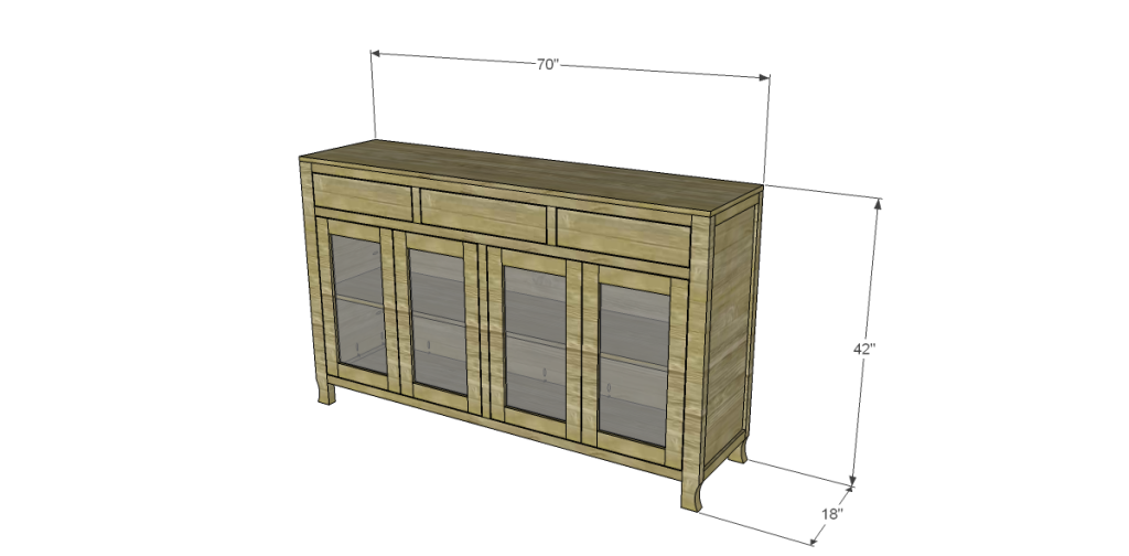 Free Diy Woodworking Plans To Build A Glass Door Cabinet