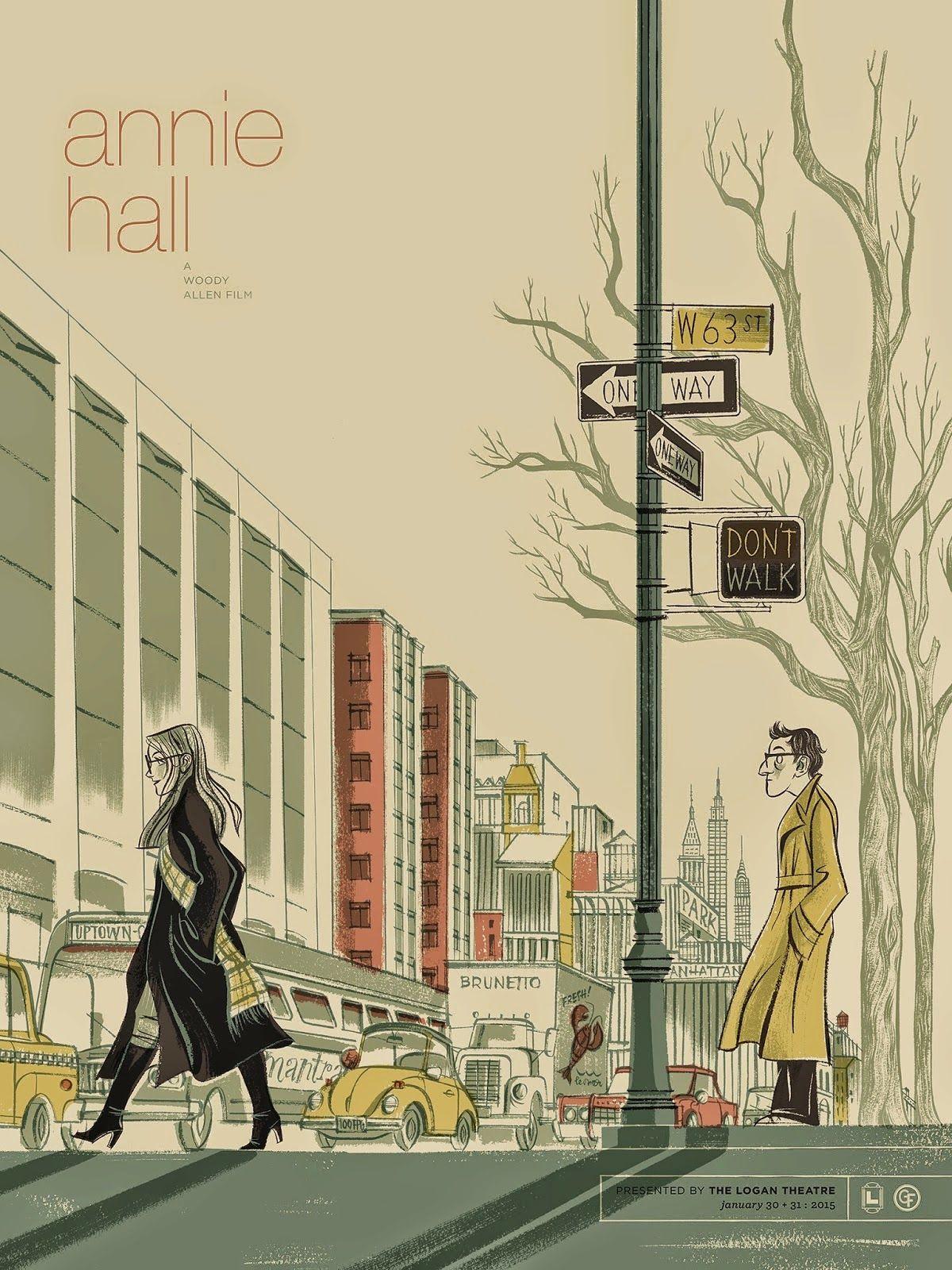 Annie Hall\' by Anne Benjamin   poster   Pinterest   Annie hall ...