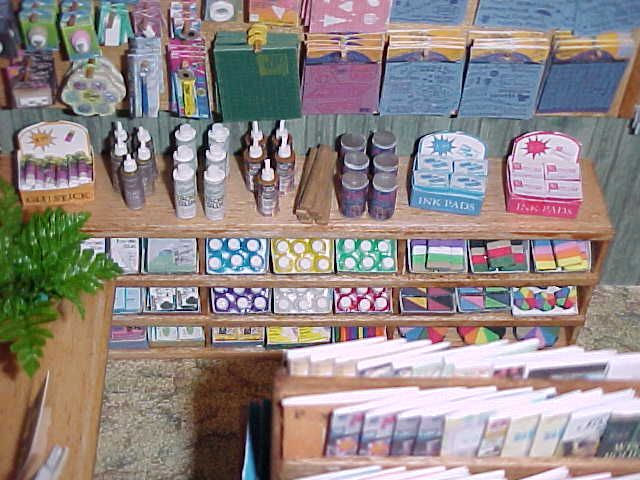 Miniature Scrapbooking Supplies - Adhesive, Punches, etc.