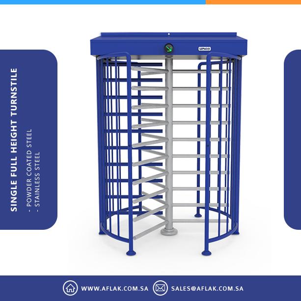 Single Full Height Turnstile Af5001s Locker Storage Height Storage