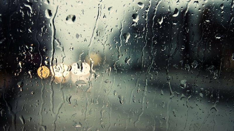 Rain On Window Pane Lights Rain Lights Rain Window Panes Rain On Glass 1920x1080 Wallpaper Rain Wallpapers Abstract Wallpaper Rainy Mood