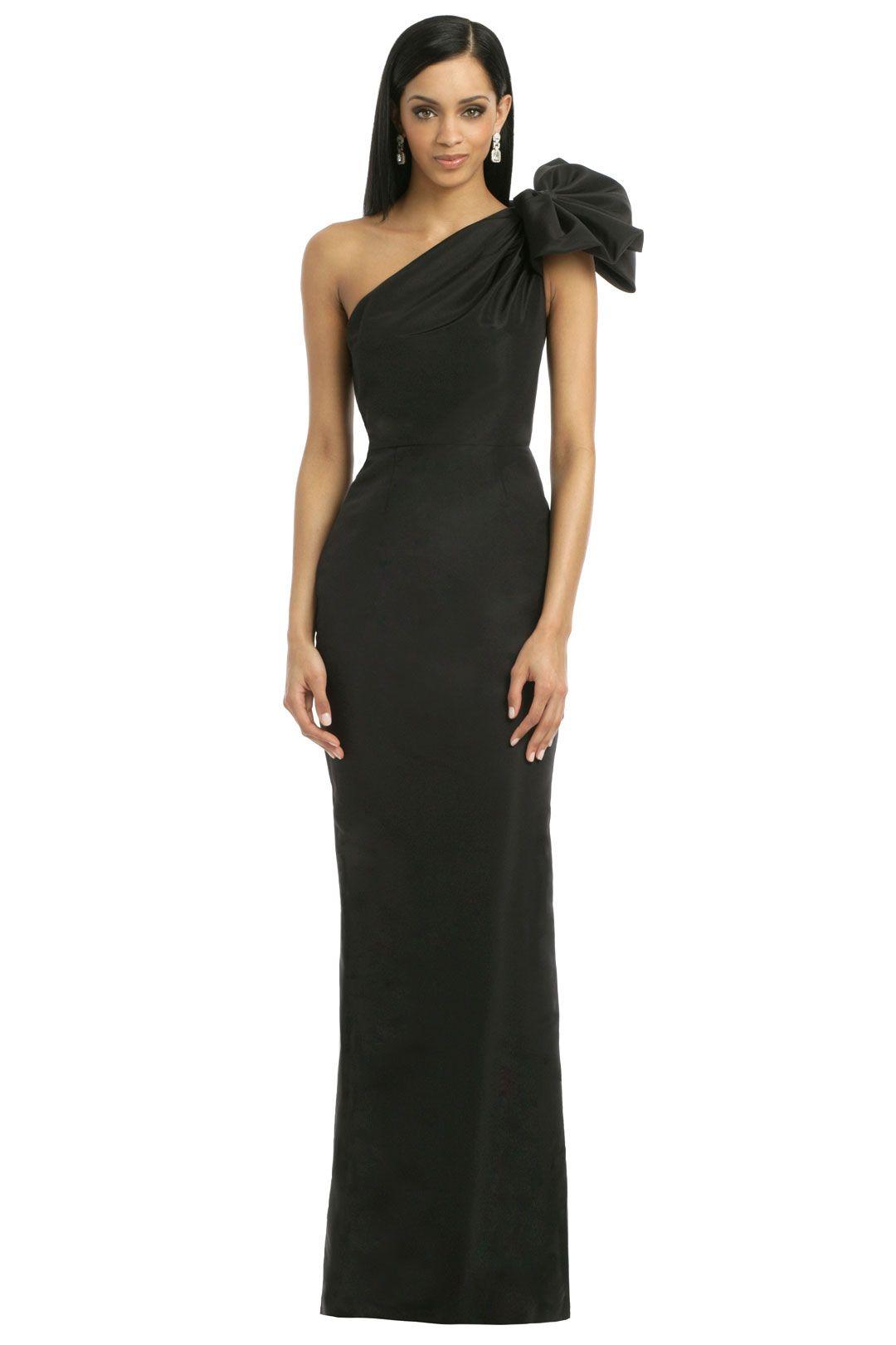 Black Kennedy Gown   Pinterest   Carolina herrera, Gala dresses and ...