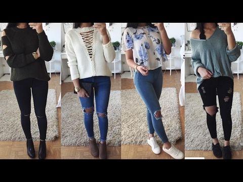 de35c70963 Blusas De Moda 2017   Outfits Parachicas - YouTube