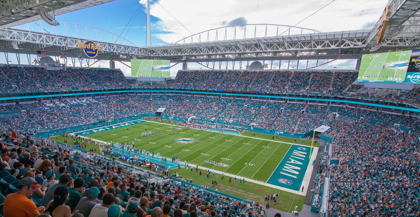 hard rock stadium - miami dolphins | miami dolphins