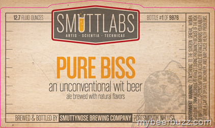 Smuttynose - Smuttlabs Pure Bliss Unconventional Wit