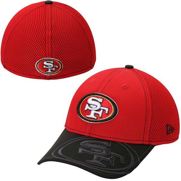San Francisco 49ers New Era Logo Crop Neo 39THIRTY Flex Hat - Scarlet -   27.99 5af4793b4